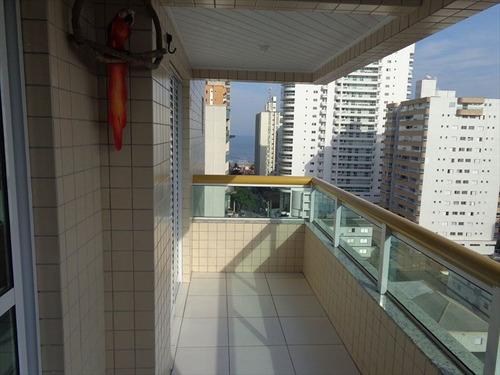 ref.: 1453 - apartamento em praia grande, no bairro tupi - 2 dormitórios