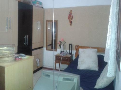 ref.: 1453800 - casa em praia grande, no bairro guilhermina - 1 dormitórios