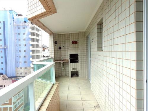 ref.: 1454 - apartamento em praia grande, no bairro canto do forte - 2 dormitórios