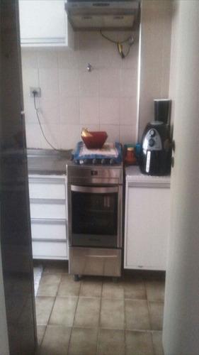 ref.: 1455 - apartamento em praia grande, no bairro vila guilhermina - 1 dormitórios