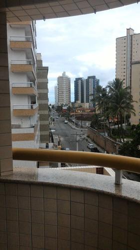 ref.: 1456 - apartamento em praia grande, no bairro vila caicara - 2 dormitórios