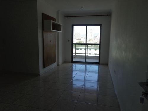 ref.: 1457 - apartamento em praia grande, no bairro boqueirao - 2 dormitórios