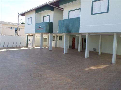 ref.: 1484 - casa condomínio fechado em praia grande, no bairro vila sonia - 2 dormitórios