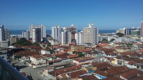 ref.: 1493 - apartamento em praia grande, no bairro cidade ocian - 2 dormitórios