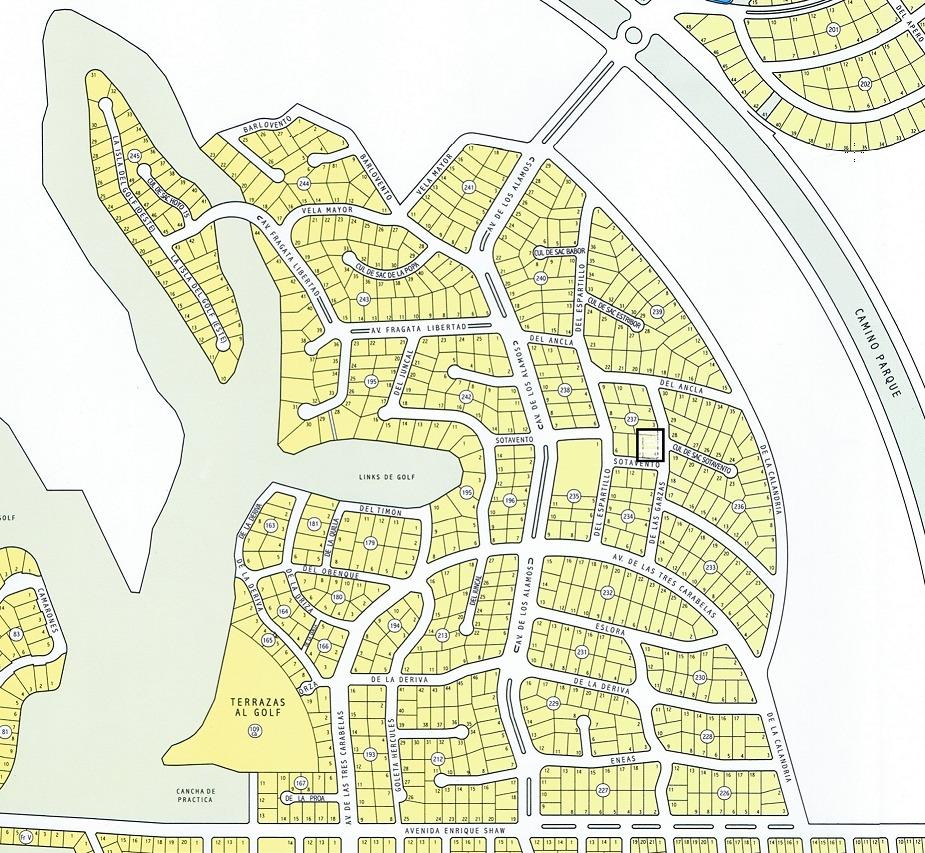 ref: 1498 - en venta - pinamar: zona álamos