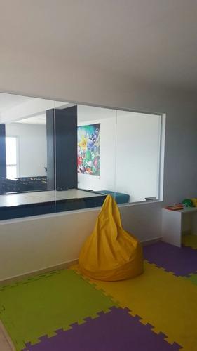 ref.: 1501 - apartamento em praia grande, no bairro vila guilhermina - 3 dormitórios