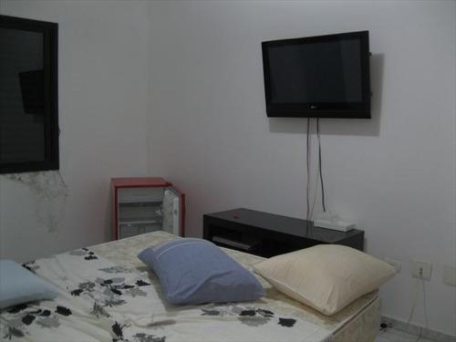 ref.: 1507200 - casa condomínio fechado em praia grande, no bairro guilhermina - 2 dormitórios