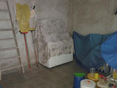 ref.: 1515500 - casa em praia grande, no bairro guilhermina - 2 dormitórios