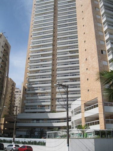ref.: 151833000 - apartamento em praia grande, no bairro guilhermina - 3 dormitórios