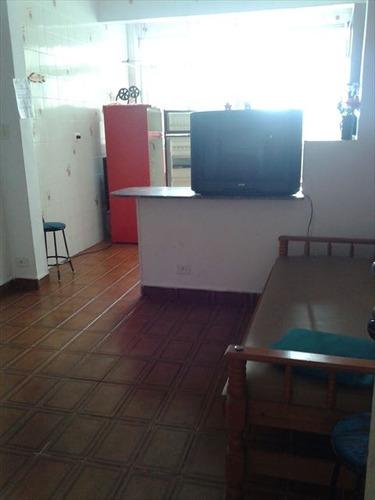 ref.: 151837400 - apartamento em praia grande, no bairro guilhermina - 1 dormitórios
