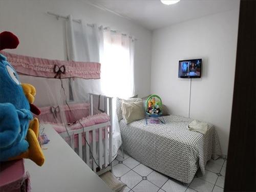 ref.: 151838400 - apartamento em praia grande, no bairro guilhermina - 1 dormitórios