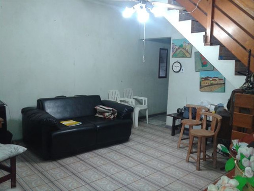 ref.: 151841100 - casa em praia grande, no bairro sitio do campo - 2 dormitórios