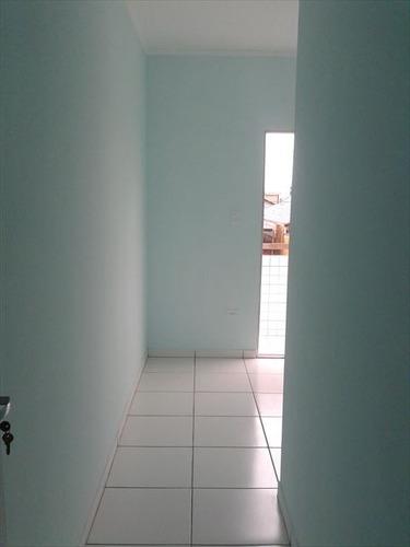 ref.: 151842300 - casa em praia grande, no bairro samambaia - 2 dormitórios