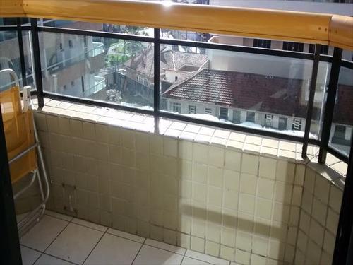 ref.: 151851300 - apartamento em praia grande, no bairro guilhermina - 1 dormitórios
