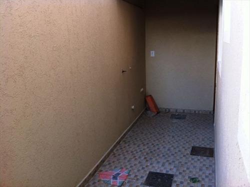 ref.: 151853500 - casa em praia grande, no bairro sitio do campo - 2 dormitórios