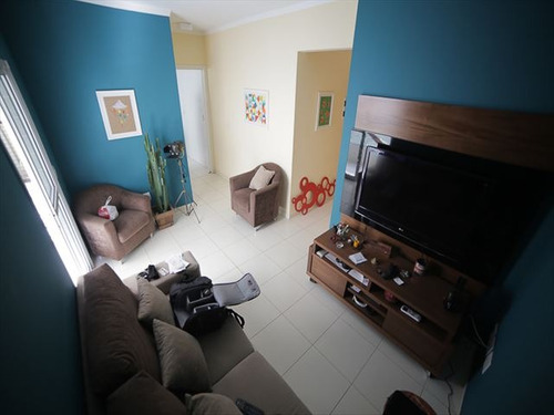 ref.: 151863600 - apartamento em praia grande, no bairro boqueirao - 1 dormitórios