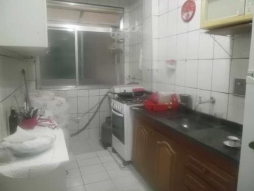 ref.: 151874200 - apartamento em praia grande, no bairro guilhermina - 1 dormitórios