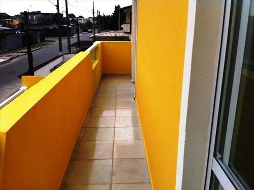 ref.: 151882800 - casa condomínio fechado em praia grande, no bairro melvi - 2 dormitórios