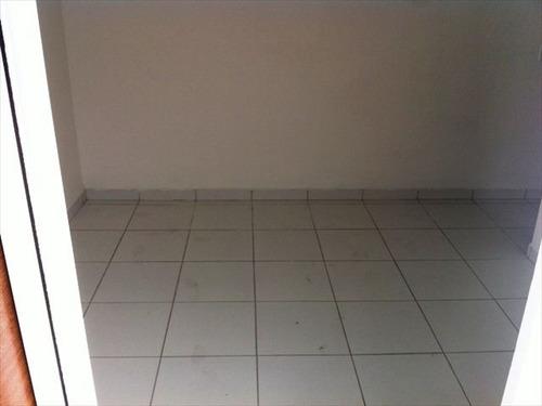 ref.: 151884100 - casa condomínio fechado em praia grande, no bairro guilhermina - 2 dormitórios