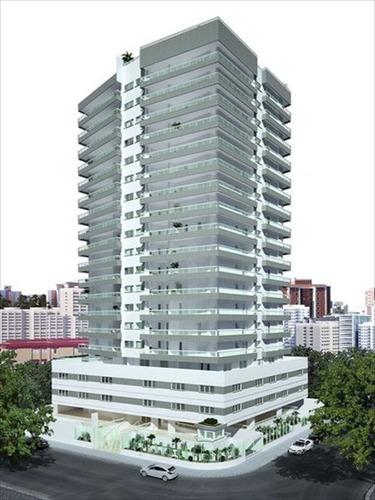 ref.: 151887200 - apartamento em praia grande, no bairro guilhermina - 2 dormitórios