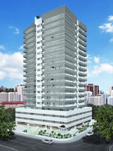ref.: 151887500 - apartamento em praia grande, no bairro guilhermina - 2 dormitórios