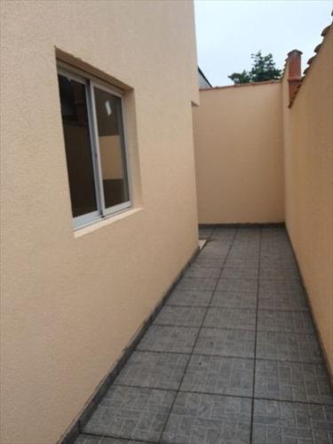 ref.: 151888500 - casa condomínio fechado em praia grande, no bairro vila sonia - 2 dormitórios