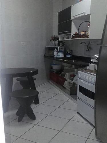 ref.: 151889100 - apartamento em praia grande, no bairro guilhermina - 1 dormitórios