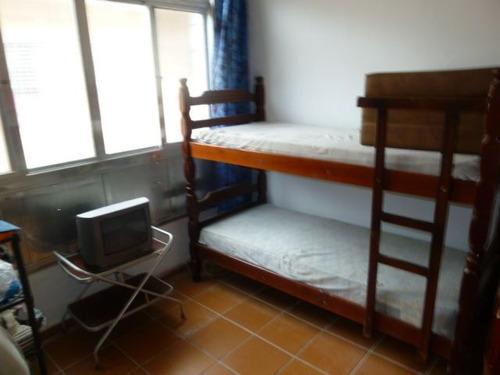 ref.: 151900900 - apartamento em praia grande, no bairro guilhermina - 1 dormitórios