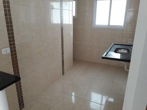 ref.: 151907900 - casa em praia grande, no bairro aviacao - 2 dormitórios