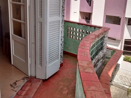ref.: 151911600 - apartamento em praia grande, no bairro guilhermina - 1 dormitórios