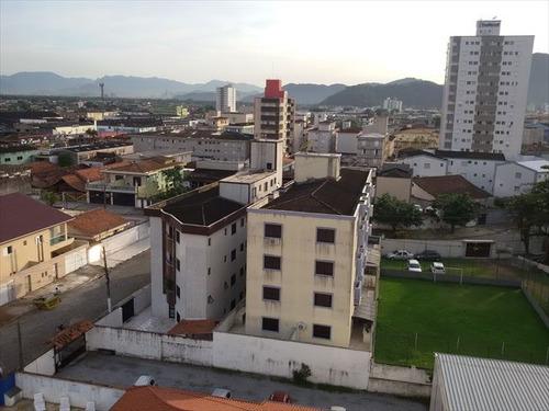 ref.: 151914800 - apartamento em praia grande, no bairro guilhermina - 2 dormitórios