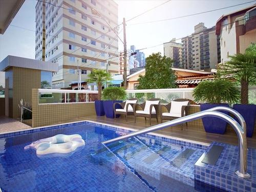 ref.: 151919000 - apartamento em praia grande, no bairro tupi - 2 dormitórios