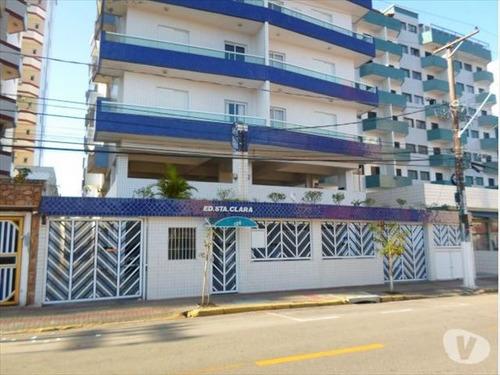 ref.: 151920900 - apartamento em praia grande, no bairro mirim - 1 dormitórios