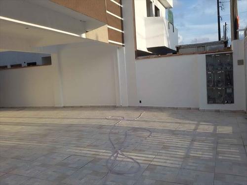 ref.: 151927600 - casa em praia grande, no bairro sitio do campo - 2 dormitórios