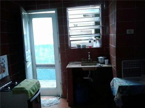 ref.: 151934600 - casa condomínio fechado em praia grande, no bairro canto do forte - 2 dormitórios