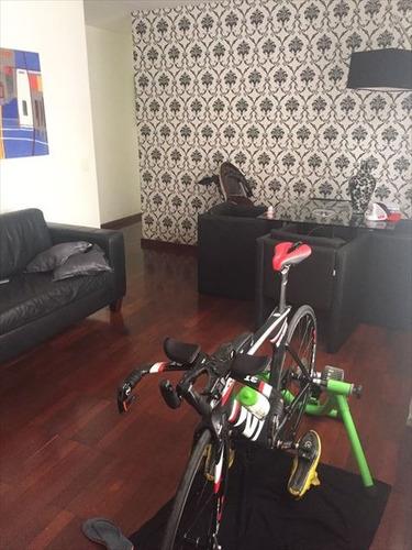 ref.: 151939800 - apartamento em santos, no bairro boqueirao - 3 dormitórios