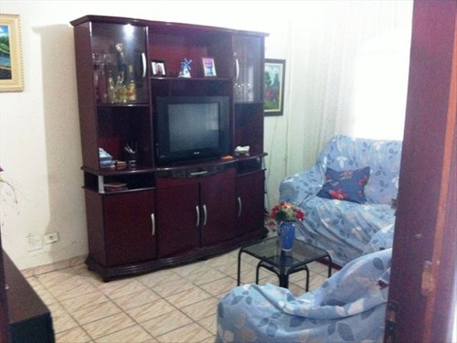 ref.: 151942100 - casa em praia grande, no bairro guilhermina - 2 dormitórios