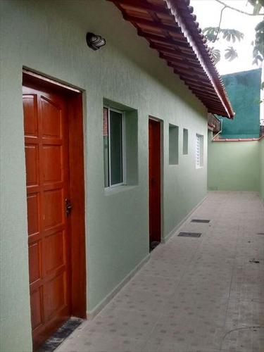 ref.: 151945000 - casa em praia grande, no bairro jd aloah - 2 dormitórios