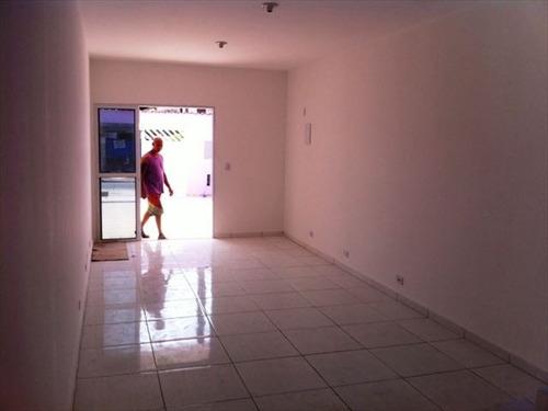 ref.: 151945100 - casa em praia grande, no bairro nova mirim - 2 dormitórios