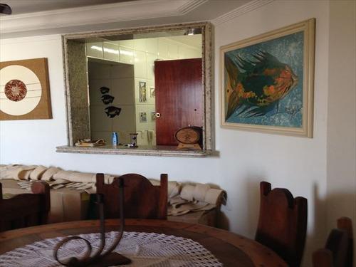ref.: 151954100 - apartamento em praia grande, no bairro guilhermina - 2 dormitórios