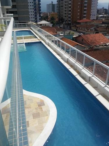 ref.: 151955300 - apartamento em praia grande, no bairro aviacao - 2 dormitórios