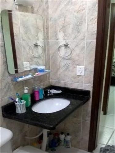 ref.: 151968300 - casa condomínio fechado em praia grande, no bairro tupi - 1 dormitórios