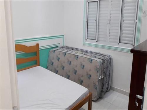 ref.: 151977700 - casa em praia grande, no bairro guilhermina - 2 dormitórios