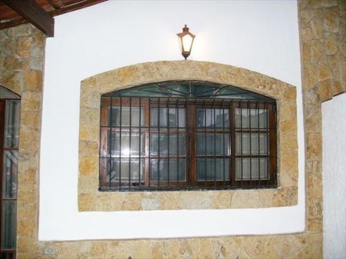 ref.: 151980000 - casa em praia grande, no bairro guilhermina - 2 dormitórios