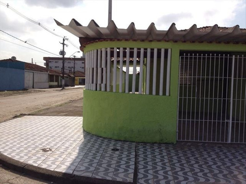 ref.: 151997800 - casa em praia grande, no bairro mirim - 2 dormitórios