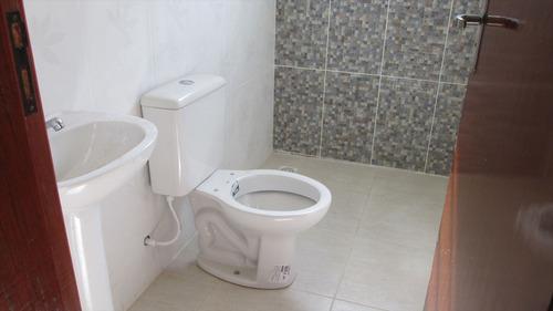ref.: 152 - casa em itanhaém, no bairro jardim regina - 2 dormitórios
