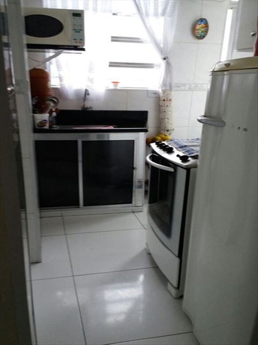 ref.: 152006000 - apartamento em praia grande, no bairro guilhermina - 1 dormitórios
