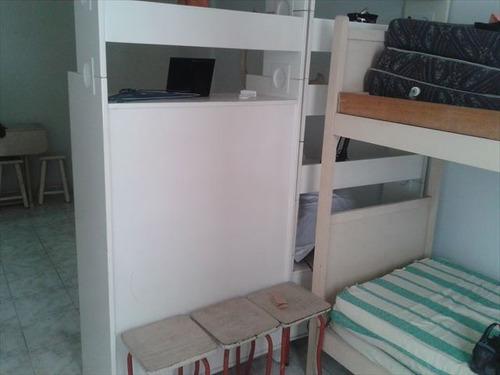 ref.: 152007700 - apartamento em praia grande, no bairro guilhermina - 1 dormitórios