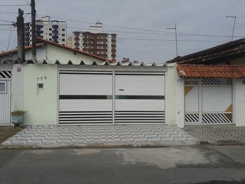 ref.: 152008400 - casa em praia grande, no bairro tupi - 3 dormitórios