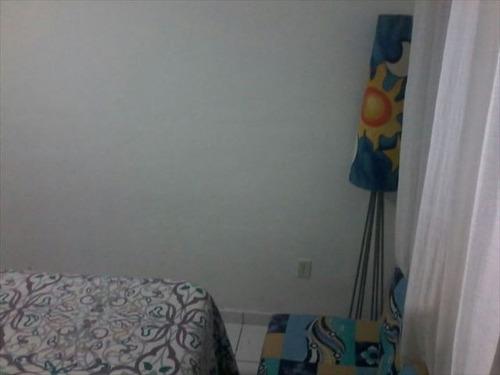 ref.: 152010400 - casa condomínio fechado em praia grande, no bairro sitio do campo - 1 dormitórios